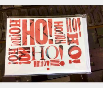 SALE!:  Ho! Ho! Christmas Card Pack (5)