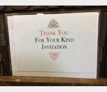 Kind Invitation
