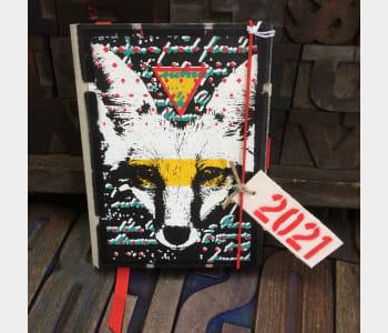 Urban Fox. 2021 Diary - SALE price