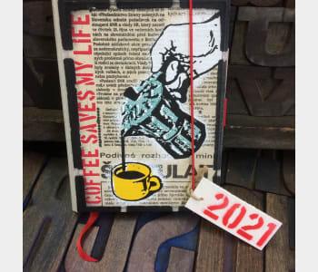 COFFEE POT: 2021 Diary Reduced Price!
