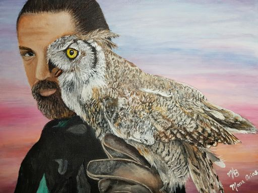 The Owl Man from England