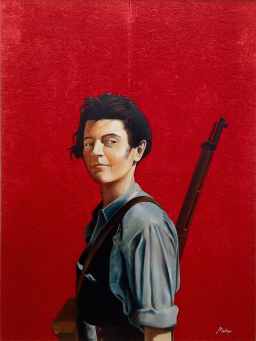 Militiawoman -1936. Barcelona-