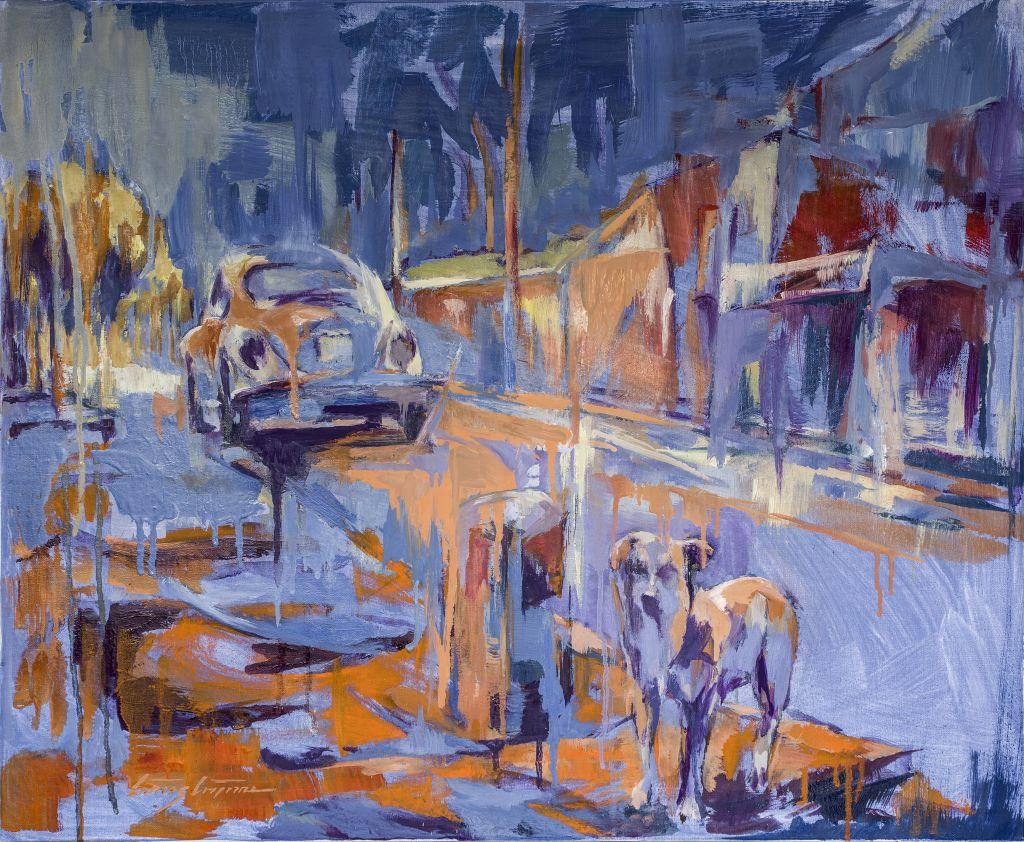 Un gos de carrer