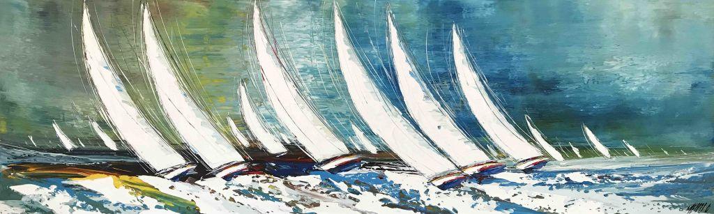 Régate... (Sailing spirit 2018)