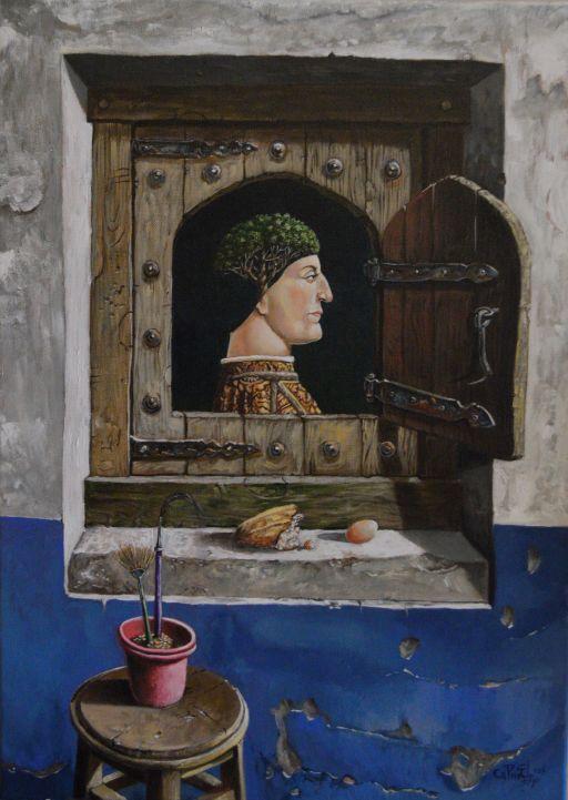 Homenaje a Piero Della Francesca. Serie ¨Apropiaciones¨. 2015