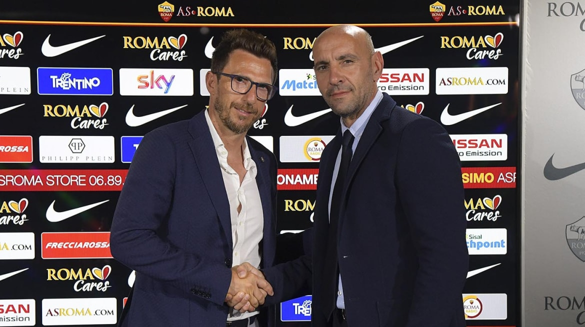 Roma appoint Di Francesco as new head coach