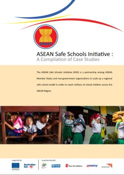ASEAN Safe Schools Initiative: A Compilation of Case Studies