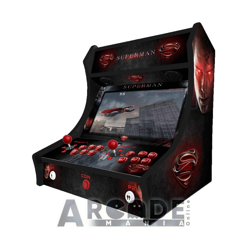 superman bartop arcade machine