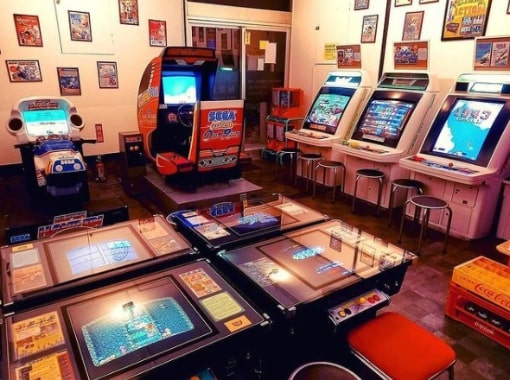 arcade machines for sale old and new