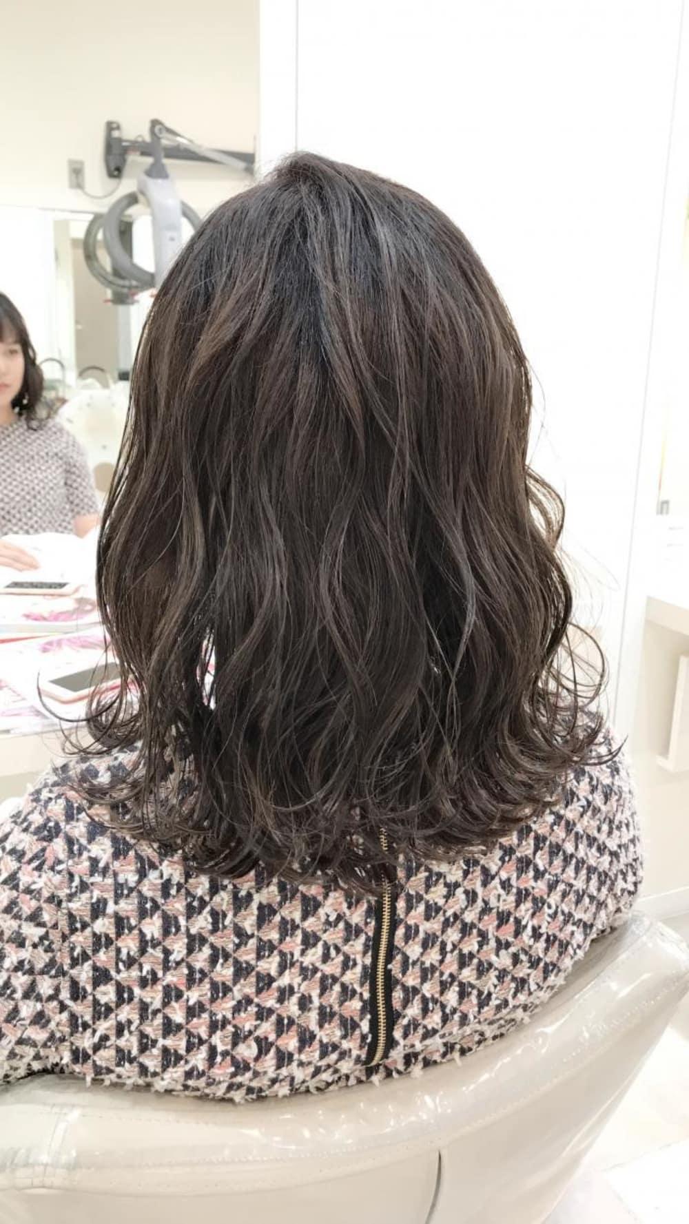 そして今年最もオーダーが多いカラーが【暗髪‐kuragami-】