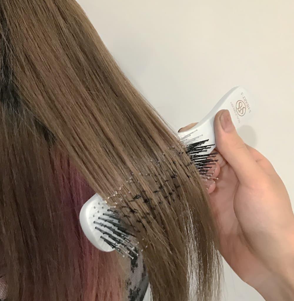 ❝凄さその3❞髪の摩擦、絡みを軽減✩