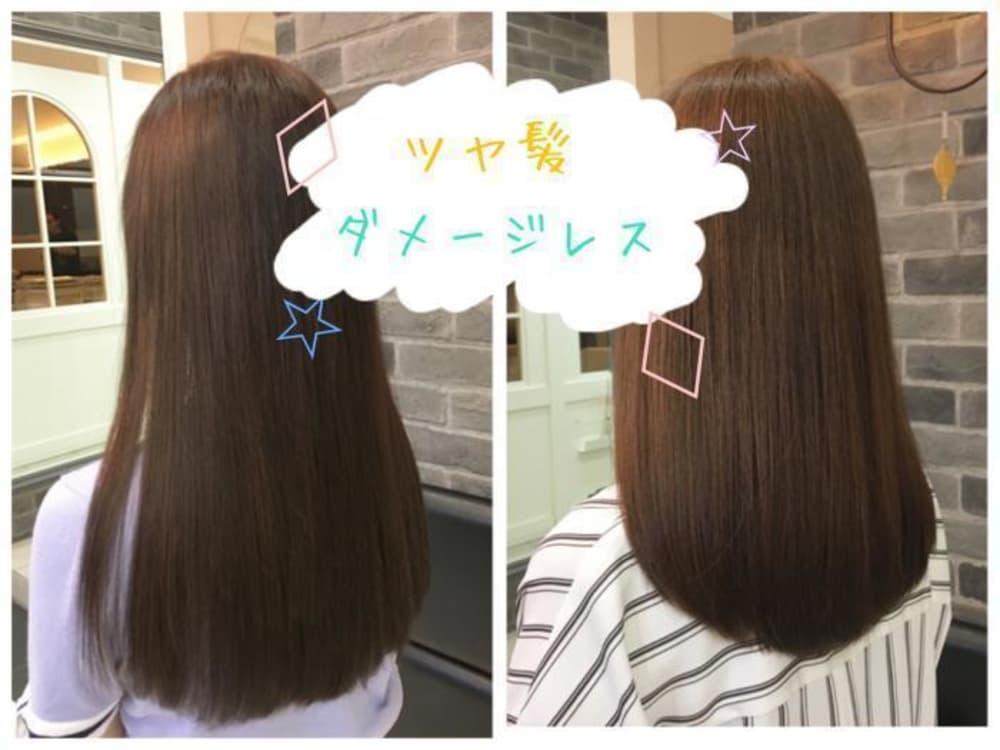 髪にとっても嬉しいダメージレス☆