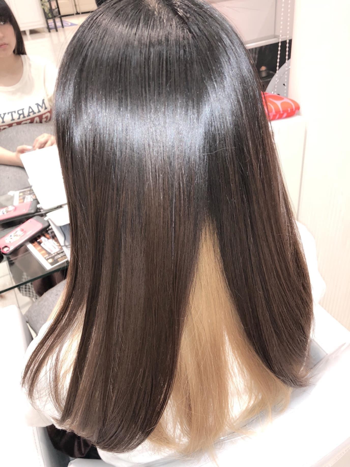 ブリーチ毛でもかけられる髪質改善縮毛矯正
