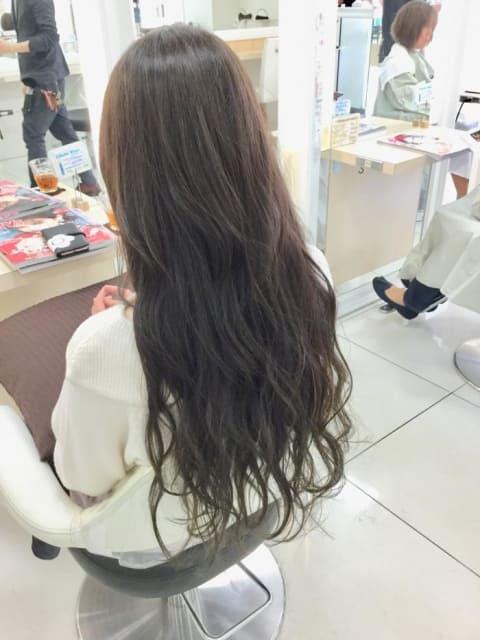 イルミナ×ツヤ髪ロング