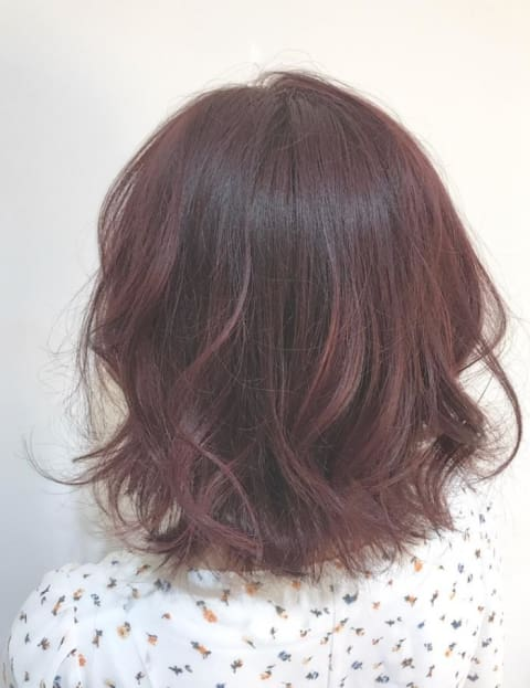 NO BLEACH やわらかピンクヘア