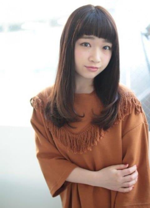 暗髪×ツヤカール