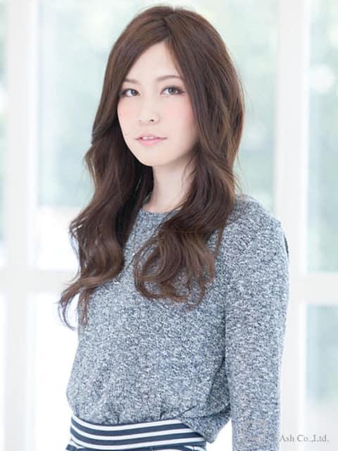 【ananヘアカタログ掲載作品】ジューシーミックスウェーブ