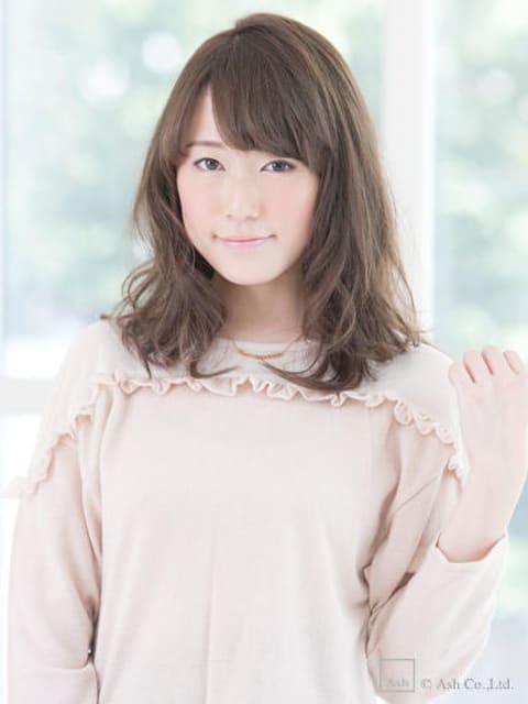 【ananヘアカタログ掲載作品】ゆるかじ女前カールスタイル