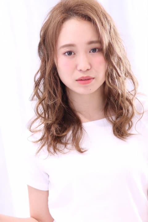 【Ash反町店/片庭千晴】大人可愛い☆キュート波ウェーブ