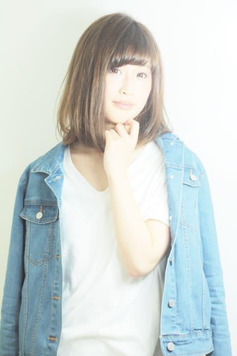 【Ash等々力/河野康虎】大人可愛い☆フェミニンストレート