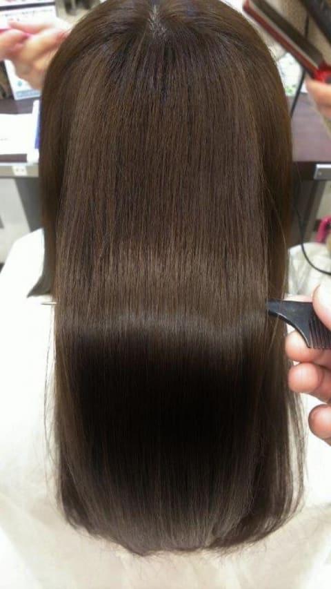 【しっかりくせを伸ばしたい方】縮毛矯正ハード