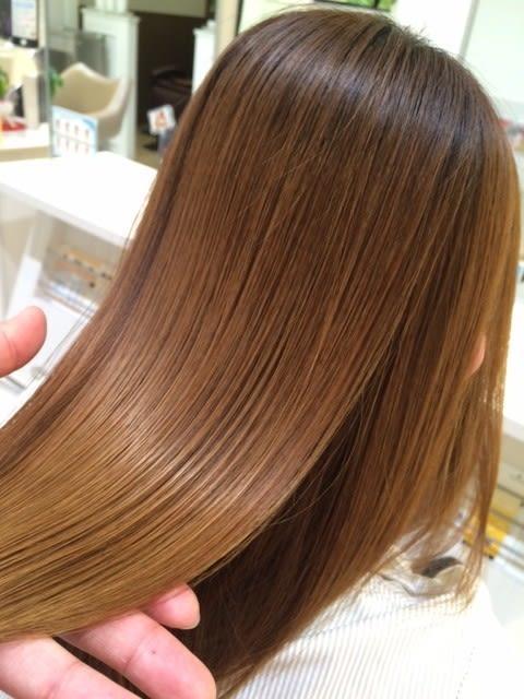髪質改善サラツヤストレート