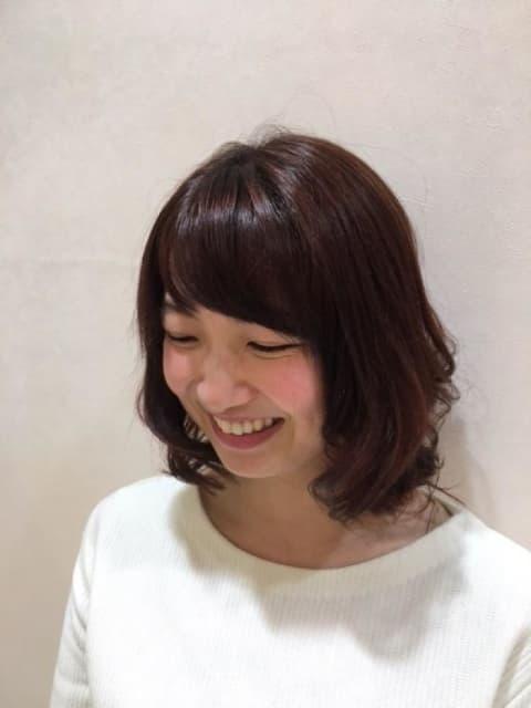 女性の可愛らしさを引き出すPink Brown☆イルミナカラー☆