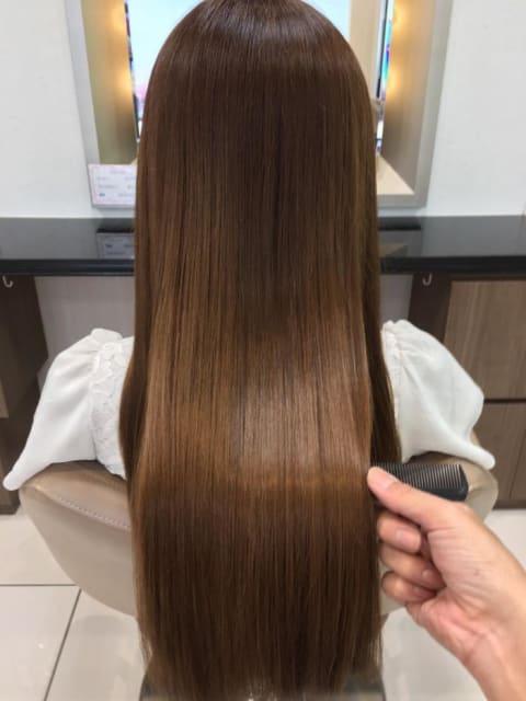 髪質改善☆さらさら縮毛矯正
