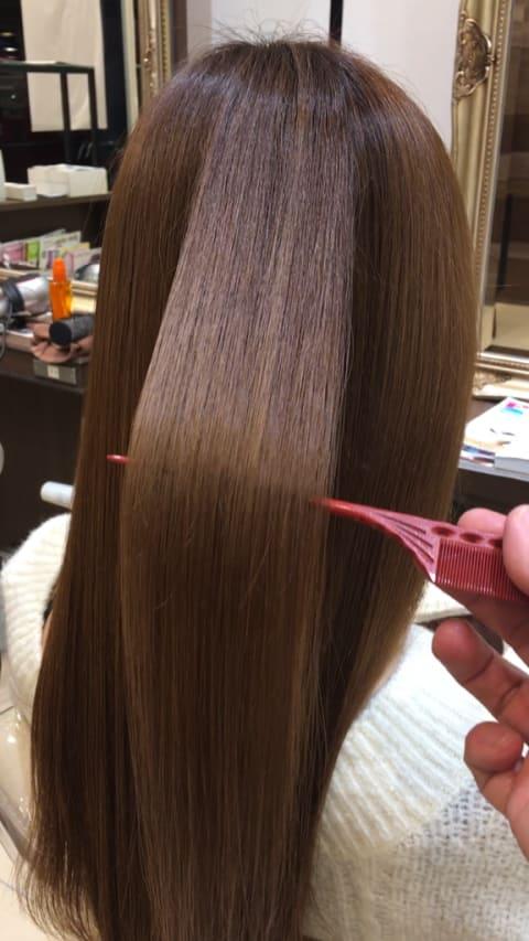 縮毛矯正8プレミアム