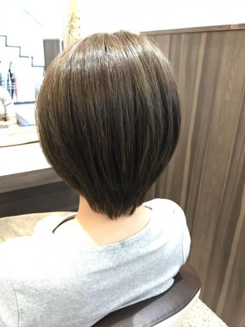 縮毛矯正ナチュラルヘア