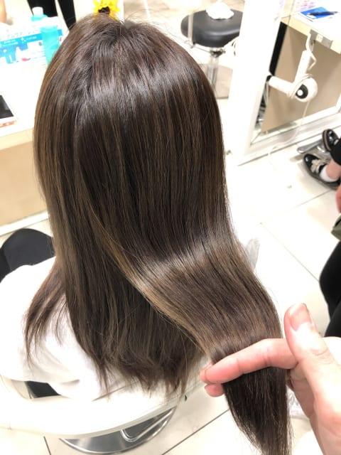 【髪質改善】×【プレミアム縮毛矯正】