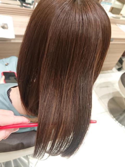 髪質改善縮毛