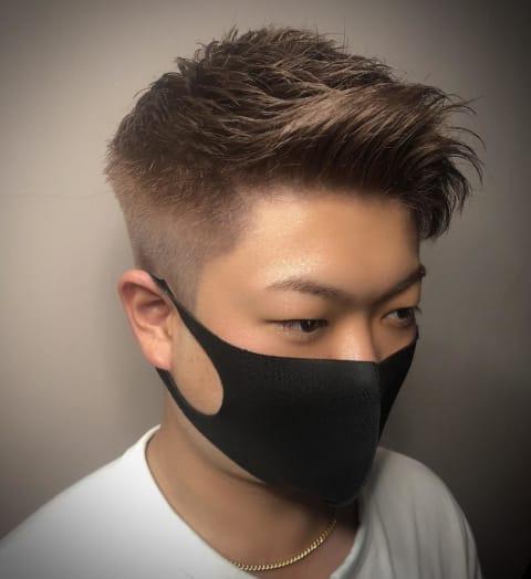 《短髪×外国人風》