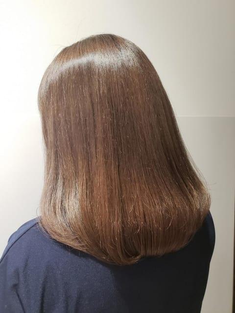 プレミアム縮毛矯正×イルミナカラー