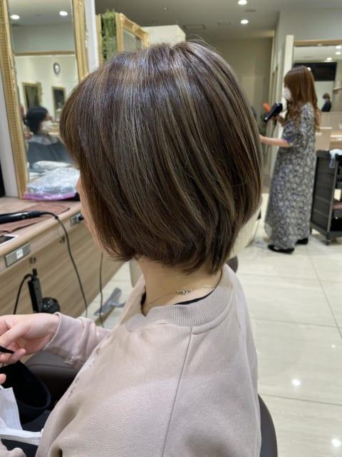 髪質改善✖︎ハイライトイルミナカラー