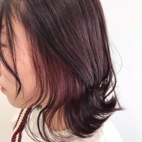 【イヤリングカラー×ピンク】
