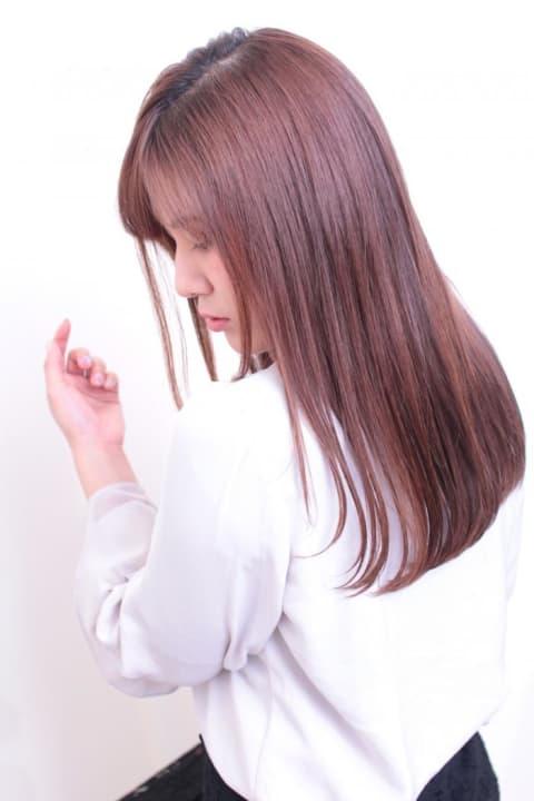 【Ash等々力店/水野翼】王道ストレートヘア