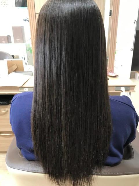 艶々サラサラが持続するプレミアム縮毛矯正