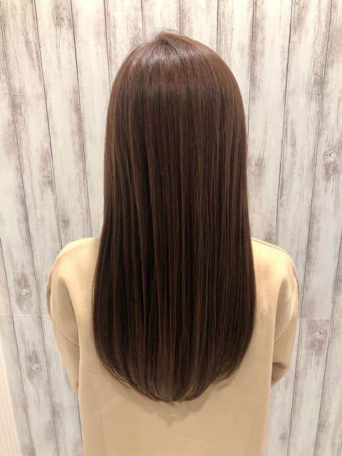 縮毛矯正とイルミナカラー