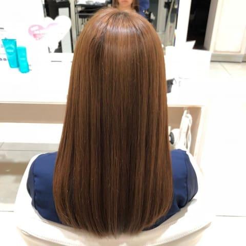 髪質改善ストレート×イルミナカラー