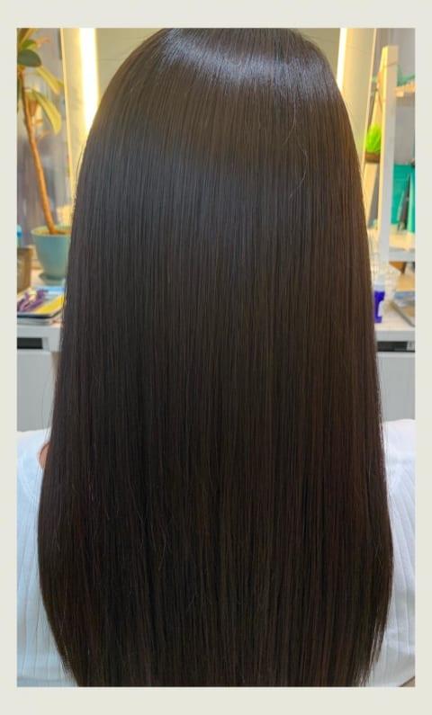 大人女子のツヤ髪 髪質改善縮毛矯正