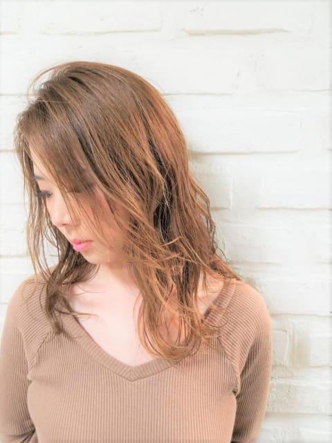 """秋におすすめイルミナカラー""""サファリ×オーキッド"""""""