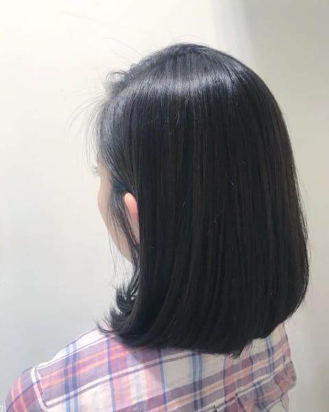 艶髪ワンカールボブ