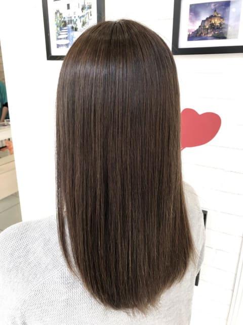 【髪質改善】【プレミアム縮毛矯正】