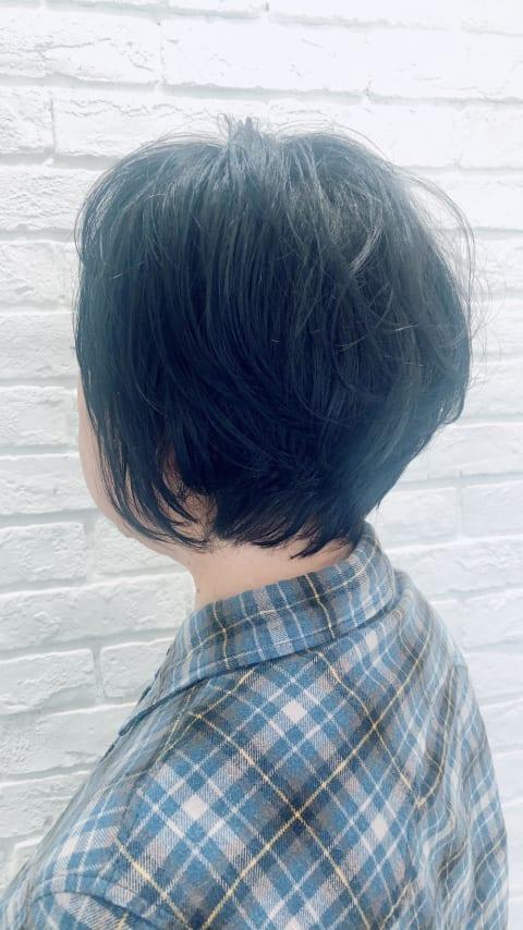 大人女性のショートボブ☆
