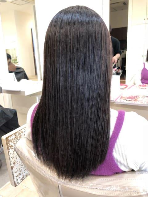 ○ダメージレス縮毛矯正でツヤツヤストレートヘア○