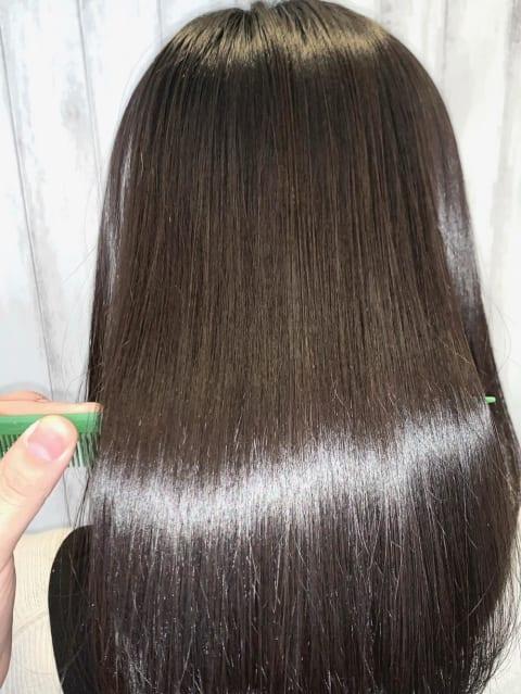 髪質改善×酸熱トリートメント