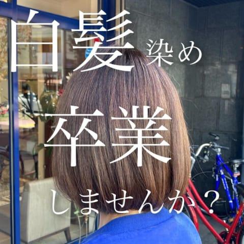 【白髪染め卒業】脱白髪染めハイライト白髪染めを使わないカラー