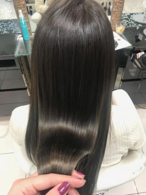 うるツヤサラ☆ダメージレス髪質改善縮毛矯正☆