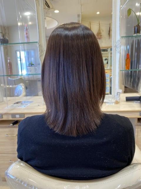 「髪質改善」クビレミディアム